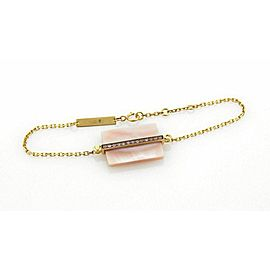 Victoria Casal Pink Sapphire & Pink MOP 18k Yellow Gold Bracelet