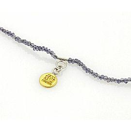 Gurhan RAIN Sterling Silver & Iolite Bead Necklace