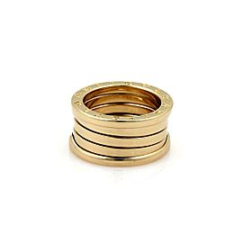 Bvlgari Bulgari B Zero-1 Wide 18k Yellow Gold 10mm Band Ring Size 51-US 5.5