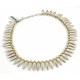 Gurhan Sunflower Sterling & 24k Gold Hammered Necklace