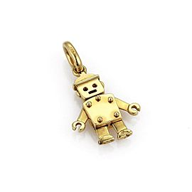 Pomellato 18k Yellow Gold Animated Figure Pendant