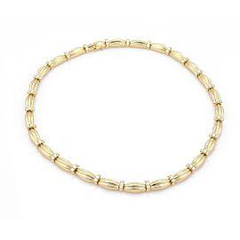 Tiffany & Co. 4.00ct Diamond 18k Yellow Gold Signature II Necklace