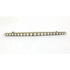 Tiffany & Co. Vintage Platinum 2.40ctw Round Cut Diamonds Ladies Brooch/Pin