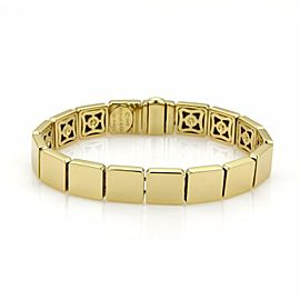 Tiffany & Co. 18k Yellow Gold Full Square Link Bracelet