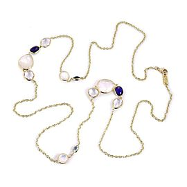 Ippolita CORSCA Rock Candy Gems 18k Yellow Gold Long Necklace 37""