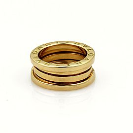 Bvlgari Bulgari B Zero-1 18k Yellow Gold 9mm Band Ring Size 49-US 4.5