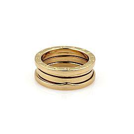 Bvlgari Bulgari B Zero-1 18k Yellow Gold 7mm Band Ring Size 52-US 5.75