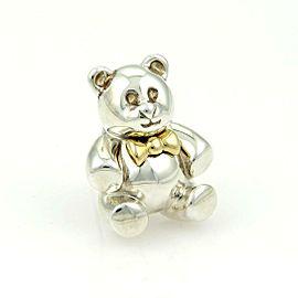 Tiffany & Co. Vintage 18k Yellow Gold & 925 Silver Bear Pin/Brooch