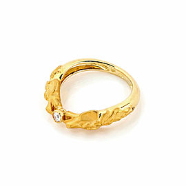 Carrera y Carrera Equestrian Double Horse Head Diamond 18k Yellow Gold Ring