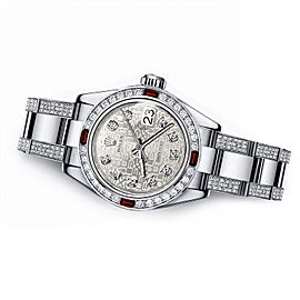 Rolex Diamond 178274 31mm Womens Watch