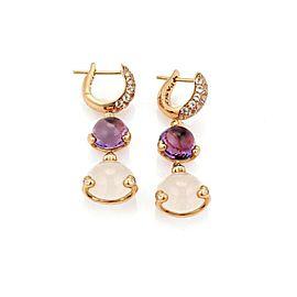 Pasquale Bruni Diamond & Gems 18k Rose Gold Dangle Earrings