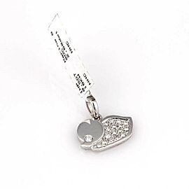 Marina B. Diamond Duck Mini Zoo Collection 18k White Gold Charm Pendant