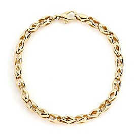 Bulgari Bulgari 18k Yellow Gold Fancy Link Bracelet