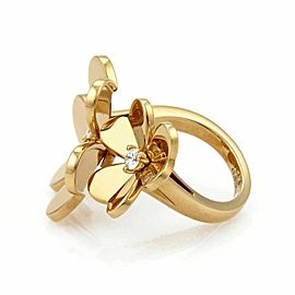 Van Cleef & Arpels FRIVOLE Diamond 18k Gold Ring