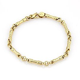 Tiffany & Co. 18k Yellow Gold Long Bar Link Bracelet