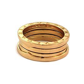 Bvlgari Bulgari B Zero-1 Wide 18k Yellow Gold Band Ring Size EU 60-US 9.25