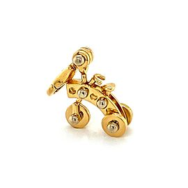Cartier Movable Tricycle 18k Two Tone Gold Charm