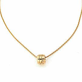 Georg Jensen Fusion 18k Rose Gold Ring Pendant