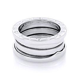 Bvlgari 18K White Gold B.Zero 1 Ring Size 49 US 4.75