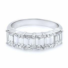 Rachel Koen Diamond Anniversary Ring With Six Diamonds 2.31cts Platinum Size 6.5
