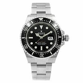 Rolex Sea-Dweller Red Black on Black Steel Ceramic Automatic Mens Watch 126600
