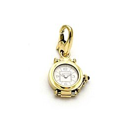 Cartier Pasha 18k Yellow Gold Watch Charm Pendant