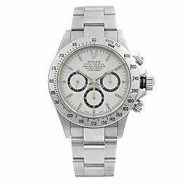 Rolex Daytona Cosmograph Zenith Movement Steel White Dial Mens Watch 16520