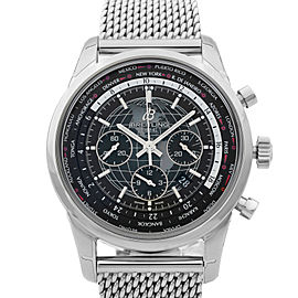 Breitling Transocean Unitime World Time Automatic Mens Watch AB0510U4/BE84-152A