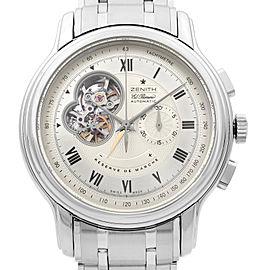 Zenith Grande Chronomaster El Primero Steel Silver Dial Mens Watch 03.1260.4021
