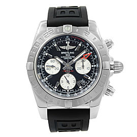 Breitling Chronomat GMT Steel Black Dial Automatic AB042011/BB56-153S Watch