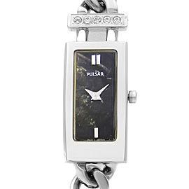 Pulsar By Seiko Stainless Steel MOP Dial Quartz Ladies Watch 1N00-X125