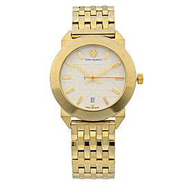 Tory Burch Whitney Classic Gold Tone Steel Swiss Quartz Ladies Watch TRB8002