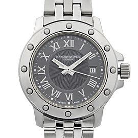 Raymond Weil Tango Stainless Steel Gray Dial Quartz Ladies Watch 5399-ST-00608