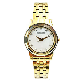 Wittnauer Winter Garden Diamond Ladies Watch 11P13