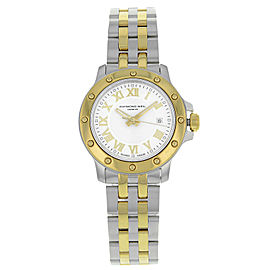 Raymond Weil Tango Steel and Gold Tone Quartz Ladies Watch 5399-STP-00308