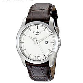 Tissot T-Classic Couturier Silver Dial Quartz Mens Watch T035.410.16.031.00