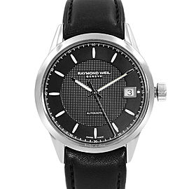 Raymond Weil Freelancer Open Back Steel Automatic Mens Watch 2740-STC-20021