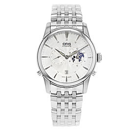 Oris Artelier Steel Silver Limited Edition Automatic Mens Watch 690 7690 4081