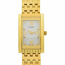 Wittnauer Ovation Collection 23K Gold Finish Steel Ladies Watch 11L09