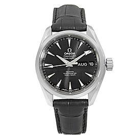 Omega Aqua Terra Steel Black Calendar Automatic Mens Watch 231.13.39.22.01.001