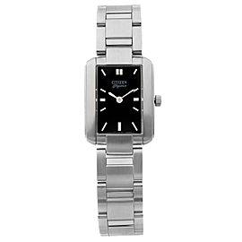 Citizen Elegance Stainless Steel Black Dial Quartz Ladies Watch 1022-R89560