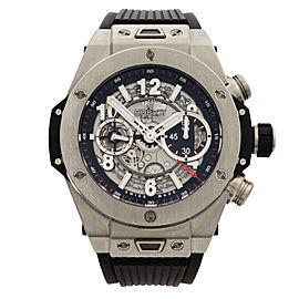Hublot Big Bang Unico Titanium Skeleton Dial Automatic Mens Watch 411.NX.1170.RX