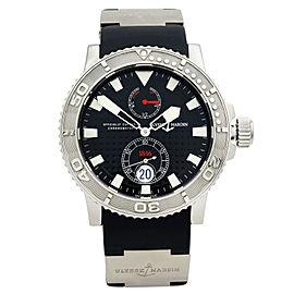 Ulysse Nardin Maxi Marine Diver Steel Black Dial Automatic Men Watch 263-33-3/92