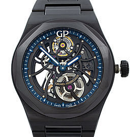 Girard Perregaux Laureato Skeleton Black Ceramic Automatic Watch 81015-32-176032