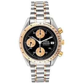 Omega Speedmaster Steel Rose Gold Automatic Watch 3716.50.00