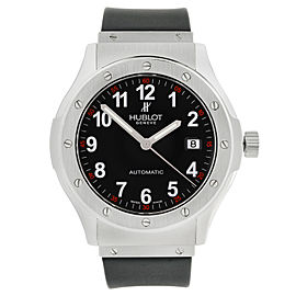Hublot Classic Fusion Stainless Steel Black Dial Automatic Mens Watch B1915.1