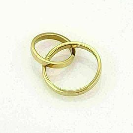 Tiffany & Co. Paloma Picasso Double Flat Circle 18k Yellow Gold Pendant
