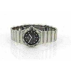 Omega Constellation Stainless Steel Sapphire Ladies Watch