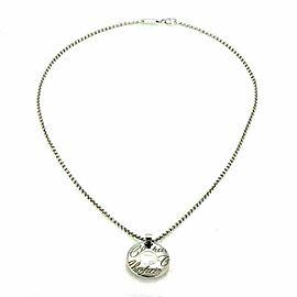 Chopard Chopardissimo Diamond Round 18k Gold Pendant & Chain w/Cert.