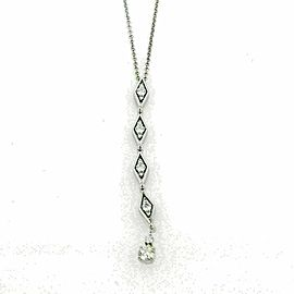 Hearts On Fire Assemblage diamond 18k White Gold Pendant